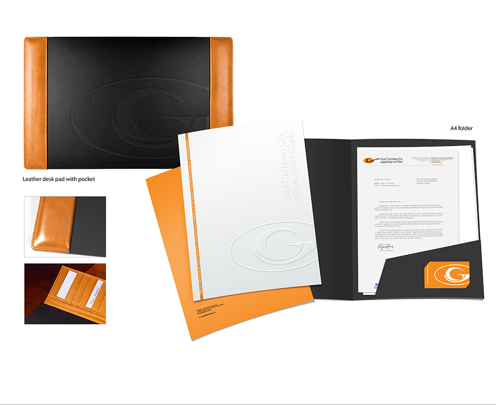 Gulf Catering Stationary